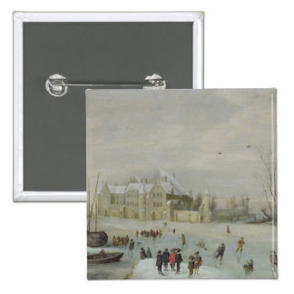 Winter Landscape 2 Pin