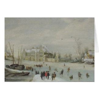 Winter Landscape 2 Card