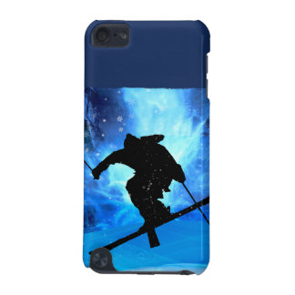 Winter Landscape and Freestyle Skier iPod Touch (5th Generation) Case