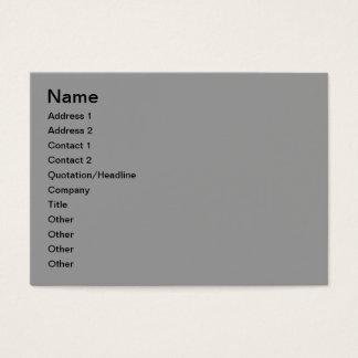 Winter landscape business card