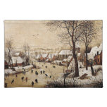 Winter Landscape by Pieter Bruegel the Elder, 1565 Cloth Placemat