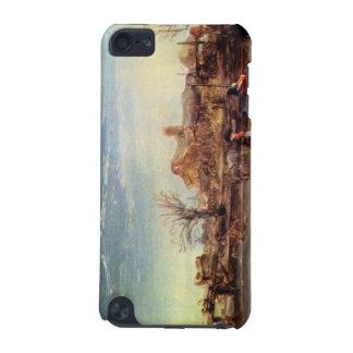 Winter Landscape by Rembrandt Harmenszoon van Rijn iPod Touch 5G Case