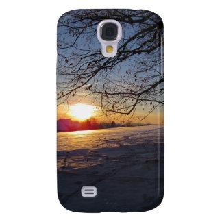 Winter Landscape HTC Vivid Cases