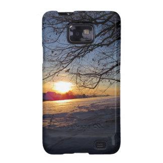 Winter Landscape Galaxy S2 Cases