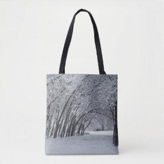 Winter Landscape Custom All-Over-Print Tote Bag