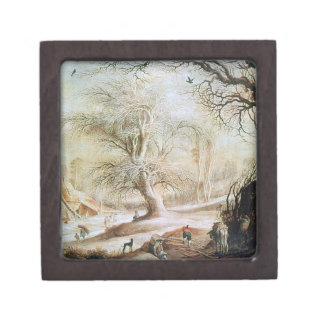 Winter Landscape Gift Box