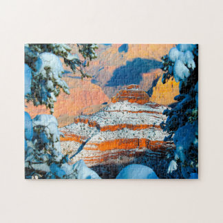 Winter landscape Grand Canyon. Jigsaw Puzzle