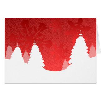 Winter Landscape - Greetings Card