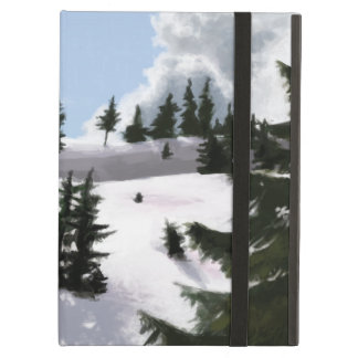 Winter landscape iPad air cover