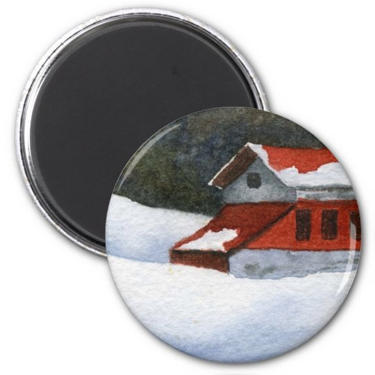 Winter Landscape Magnet