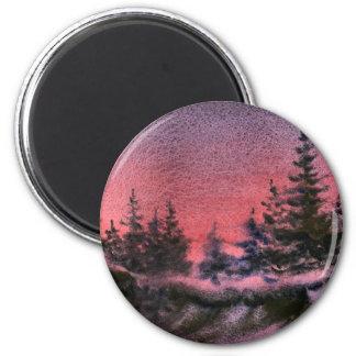 Winter Landscape Magnet