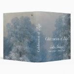 Winter Landscape - Memorial Guest Book Binder