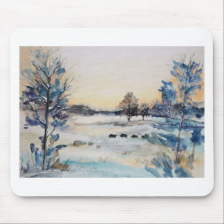 Winter Landscape Mouse Pad