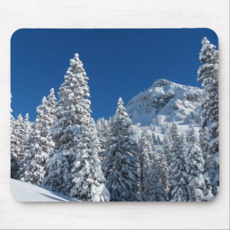 Winter landscape mouse pad
