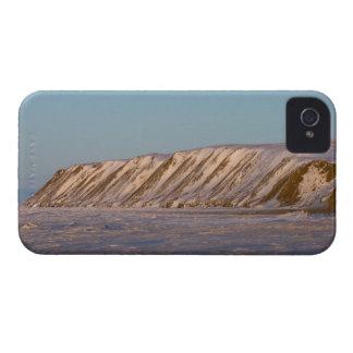winter landscape on Herschel island on the 2 Blackberry Bold Case