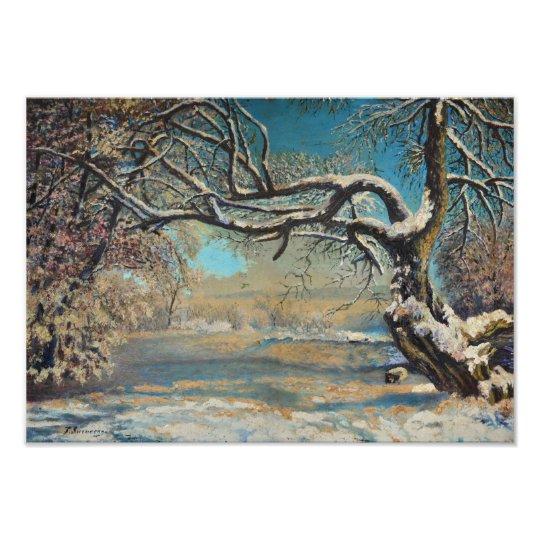 Winter Landscape Photo Print