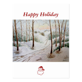 Winter Landscape Postcards