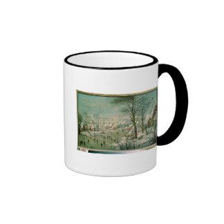 Winter Landscape Ringer Mug