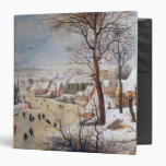 Winter Landscape with Birdtrap, 1601 Binders