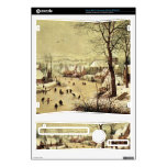 Winter landscape with skaters by Pieter Bruegel Decals For Xbox 360 S