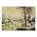 Winter Landscape with Skaters Cards
