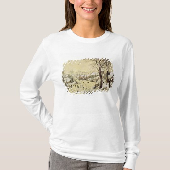 Winter Landscape with Skaters T-Shirt