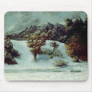 Winter Landscape With The Dents Du Midi, 1876 Mouse Pad