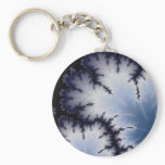 Winter Leaf Keychain
