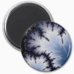 Winter Leaf Magnet