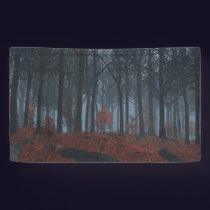 Winter Leaves Banner