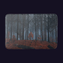 Winter Leaves Bathmat