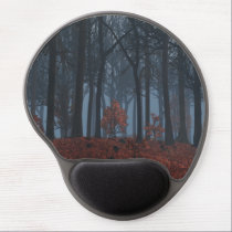 Winter Leaves Gel Mousepad