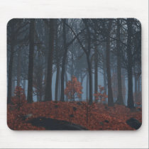 Winter Leaves Mousepad