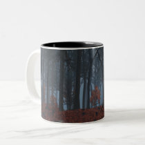 Winter Leaves Mug