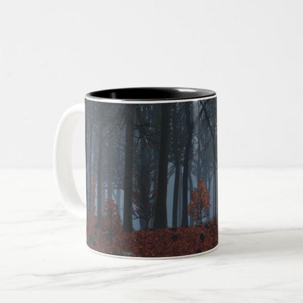Winter Leaves Mug
