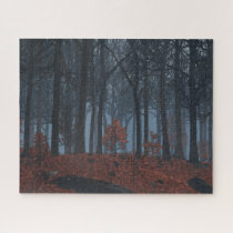 Winter Leaves Puzzle