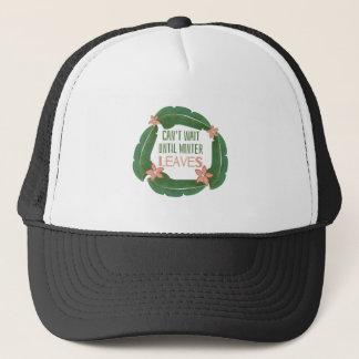 Winter Leaves Trucker Hat