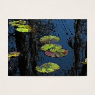 Winter Lily Pond ATC Business Card