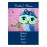 Winter Love Large Business Card