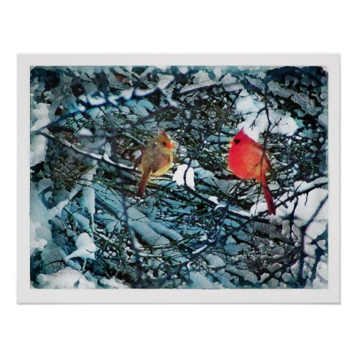 Winter love ,  poster