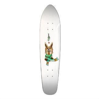 winter love skateboard