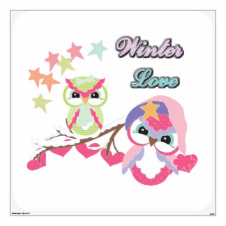 Winter Love Wall Sticker