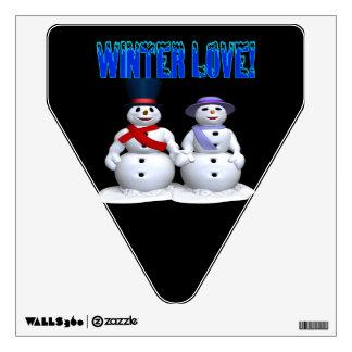 Winter Love Room Sticker