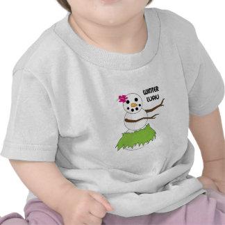 Winter Luau T Shirt