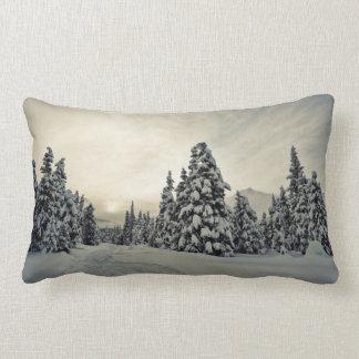 Winter Magic Lumbar Pillow