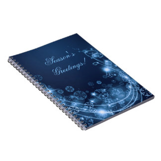 Winter Magic Notebook