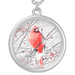 WINTER MALE CARDINAL NECKLACES