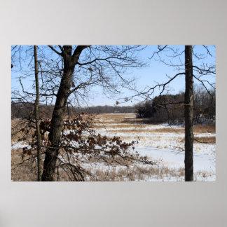 Winter Marsh print