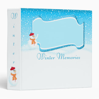 Winter Memories Binder