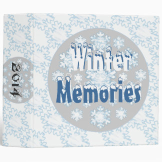 Winter Memories Binders